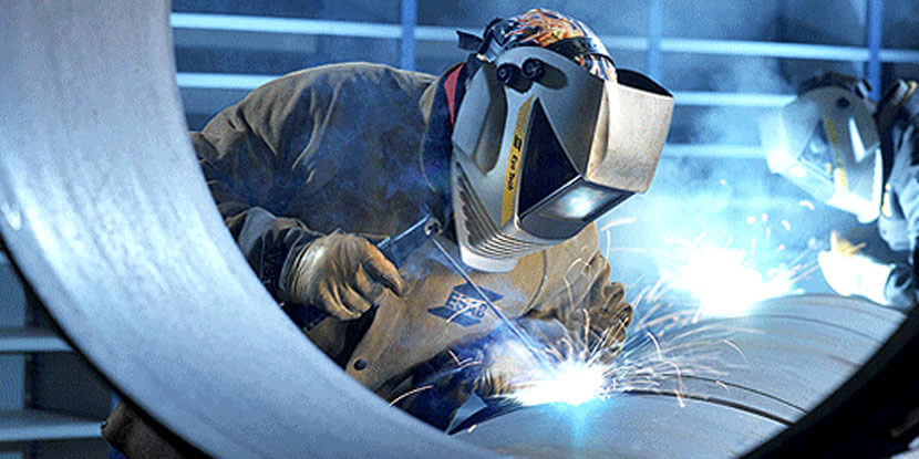 AISI types 301, 302, 304, 305 and 308 steels of difficult weldability weld steels