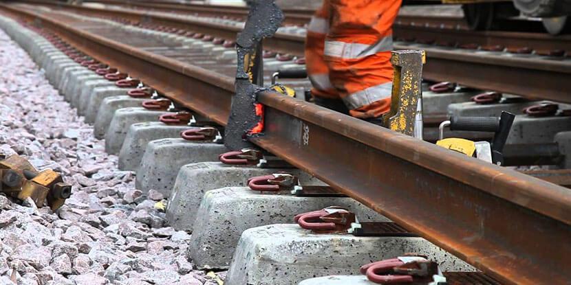 Butt Welding for Rail ends