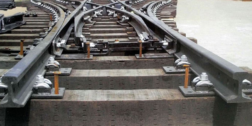 Manganese Steel Rails