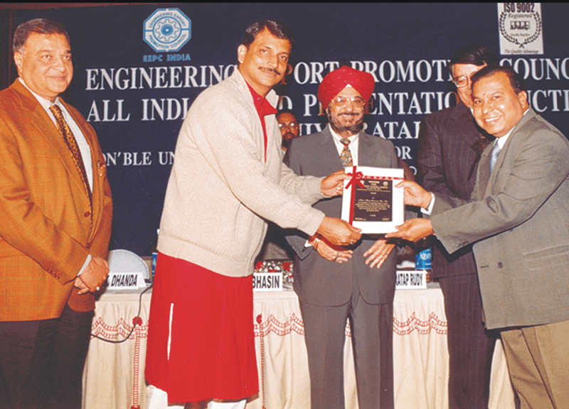 Awards received by Sharp Welding Electrodes